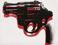 Andy Warhol Gun High Quality Handpainted Art Oil Painting On...