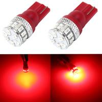 Оптовая продажа 200 шт. / лот 194 168 светодиодные лампы, внутреннее освещение для 194 168 2825 W5W T10 Клин 18smd чипсетов, замена T10 светодиодные лампы