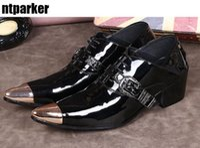 2017 Nouveau Luxe Élégant Business Casual Chaussures En Cuir Casual Bout Toe Japonais Style Robe Chaussures Homme Noir Grande Taille 38-46
