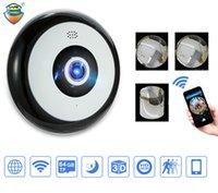 미니 HD 960P 무선 와이파이 IP 카메라 360도 파노라마 Fisheye 1.3MP 보안 카메라 지원 전화 APP 제어 무료 배송