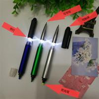أربعة في واحد شاشة تعمل باللمس مع الصمام القلم الفلورسنت مبيعات المصنع مباشرة القلم