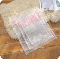 3pcs / set clothes washing machine specific zippered underwear baus weak weak white lingerie network washing bags