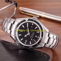 Топ-продавец высокого качества рождественский подарок роскошные мужские часы механизм с автоподзаводом из нержавеющей стали механические коаксиальные 007 мужские часы
