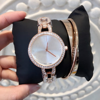 2017 New model Fashion lady watches with diamond Rose gold S...