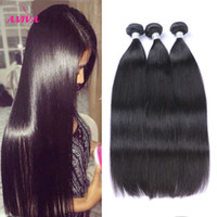 Unprocessed 9A Virgin Brazilian Human Hair Weaves Bundles Ma...