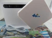 Kilidi Set Huawei B593s-22 150 M 4G LTE FDD TDD WLAN CPE Kablosuz Yönlendirici Çift 35dBi Anten 3G 4G