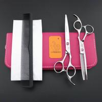 Hot sell professionale Forbici per capelli 6 INCH Red Gem screw LYREBIRD salon Forbici da parrucchiere destra grande stail NOVITÀ