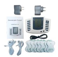 Электростимуляторы всего тела Relax Мышцы терапия массажер Массаж Импульсные иглоукалывания Health Care Machine 16 колодки