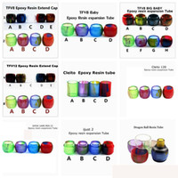 Newest Replacement Resin Tubes for Smok TFV12 TFV8 Baby Big ...