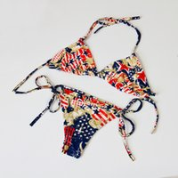 Swimsuit Women 2017 National Flag Bikini Brazilian Beach Sex...