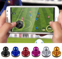 Manette de jeu Joystick Joypad Alliage d'aluminium + Ventouse en gel de silice pour Iphone / iPad / iPad mini / iPod touch / Samsung / Xiaomi Android AndTablet PC