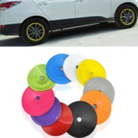 3M Car Wheel Tire Hub Sticker Care Cover Decal Moulding Car ...