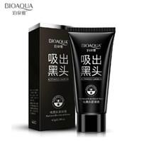 BIOAQUA Mitesser Schwarz Gesichtsmaske Schwarz Maske Gesichtsmaske Nase Mitesser Entferner Peel Off Schwarz Kopf Akne Behandlungen 500pcs DHL FREI