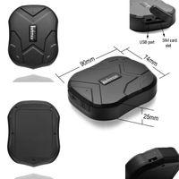Auto GPS-Verfolger TKSTAR TK905 Personen-Verfolger-wasserdichter leistungsfähiger Magnet-Bereitschafts-90Days Realzeit-LBS, die lebenslange freie Spurhaltung in Position bringen