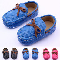 Fashion Baby PU Faux Leather Prewalker Shoes Kids Girls Boys...