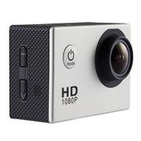 새로운 가장 저렴한 SJ4000 1080P 풀 HD 액션 카메라 스포츠 캠코더 DV DVR 실버 무료 DHL 배송
