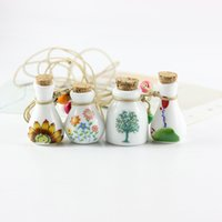 Creative Flower Mosaic MINI Glass Essential Oil Bottle Aroma...