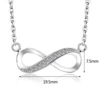 2017 high quality 925 Sterling Silver Infinite Love Infinity...