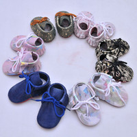 Baby Moccasins Camouflage Color Genuine Leather High Quality...