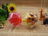 Новые Многоцветные зонтики Коробки подарков Свадебные сувениры Сувениры на день рождения Держатели Baby Shower детские дни Коробки конфет