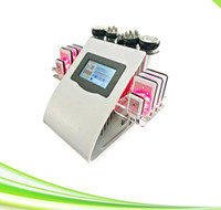 6 1 tripolar rf diyot lazer lipoliz zayıflama ultrason kavitasyon makinesi