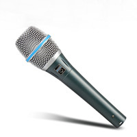 Frete grátis !! Cápsula dinâmica de alta qualidade BETA87A !! Microfone Vocal Supercardióide Beta 87A Com Som Incrível!