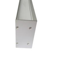 10 X 1M sistemas / porción U tipo de pared de perfil de aluminio arandela para las tiras llevadas y condujo disipador de calor para las luces de decoración de la pared