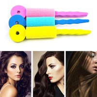 3 pçs / set Cuidados Com Os Cabelos Esponja Mágica Suave Torção Do Cabelo Styling Hair Roller Rollers Alavancar DIY Ferramentas para As Mulheres Magique