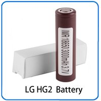 100% High Quality 18650 Battery HG2 3000mAh 30A Rechargable ...