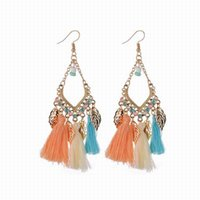Bohemian Ethnic Handcrafted Tassel Drop Dangle Earrings for ...