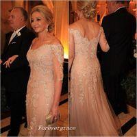 Élégante couleur champagne couleur mère de la mariée robes formelle marqueuse femme porter des invités de mariage en soirée robe plus la taille