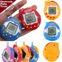 재고!!! 다마고치 전자 애완 동물 장난감 레트로 게임 기계 장난감 향수 버츄얼 사이버 디지털 애완 동물 다마고치 텀블러 토이