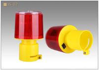 Lampe d'avertissement solaire, lampe de flash d'avertissement de nuit, grue à tour, lampe de signalisation de construction de route, lampe de flash de barrage routier de trafic