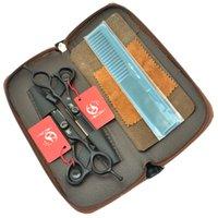 5.5inch 6.0inch Meisha Barber Salon Ciseaux Ciseaux de coiffure Professionnel Set JP440C Hair Direct Cisailles Ciseaux Hot, HA0243
