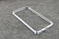 Роскошный алюминиевый металлический бампер Рапира серия чехол для iphone 5 5S 5G 6G 4-дюймовый круглый край формы кадра крышка телефона