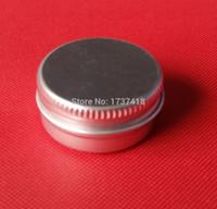 스크류 뚜껑, 화장품 케이스 단지, 60ml 알루미늄 통, 알루미늄 립 밤 컨테이너와 60g 알루미늄 크림 항아리