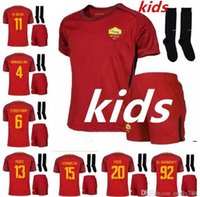 17- 18 kids kit new ROMAS home totti special edition commemor...