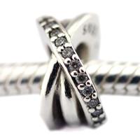 2016 Galaxy Spacer 100% 925 cuentas de plata Sterling Fit Pandora Charms pulsera auténtica joyería de moda DIY