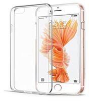 2mm ultra fino macio tpu caso transparente à prova de choque claro gel de borracha tampa traseira case para iphone 8 7 7 plus 6 6 plus 5