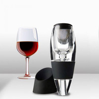 Cucina all'ingrosso Aeratore del vino Decanter Set Family Party Hotel Fast Aeration Vino Pourer Decanter magico 2017ing