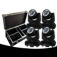 4 Pack Beam moving head Led 60w white DMX 11 Channels 6 colo...