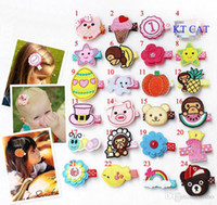 72 Styles Baby Girls Hair Clips Accessories Hairpins Kids Fl...