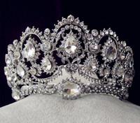 1 Parça Gümüş Kristaller Rhinestones Taç Kafa Takı Alın Başlığı Gelin Bırakır