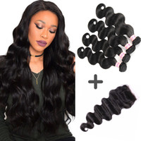 Brazilian Virgin Body Wave Hair Weaves Unprocessed Bundles A...