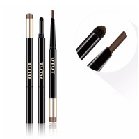TUTU 5 Colors Automatic 2 In 1 Eyebrow Pencil + Eye Brow Pow...