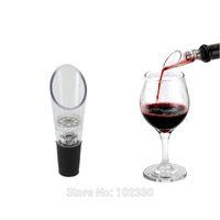 Preço de fábrica DHL Frete Grátis Red Wine Funnel Garrafa Pourer, Borracha De Silicone Vinho Aerador Decanter Pourer S201715
