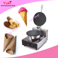 commercial ice cream waffle cone maker egg roll machine waffle paper maker manual ice cream cone machine
