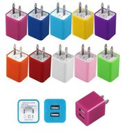 Universal 2. 1A Wall Charger Plug US Dual USB AC Power Adapte...