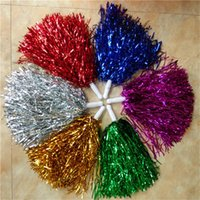 40g Cheerleading Pom Poms Cheering Hand Flowers Ball Pompom ...