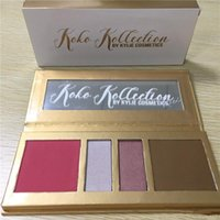 2017 Makeup Kylie In Love with the Koko 4 color Pressed Powd...